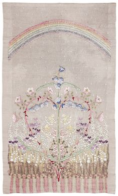 Designed and embroided by Louise Adelborg, 1915