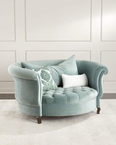 Haute House Harlow Sage Cuddle Chair Horchow - Shop Harlow Sage Cuddle Chair From Haute House At Horchow Where Youll Find New Lower Shipping On Hundreds Of Home Furnishings And Gifts Living Room Chairs, Living Room Furniture, Living Room Decor, Home Furniture, Antique Furniture, Furniture Stores, Modern Furniture, Cheap Furniture, Furniture Ideas