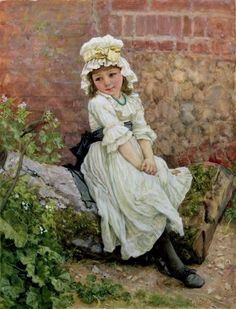 Johnson, Edward Killingworth (b,1825)- Child w Robin, 1880 -2a