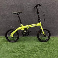 de91a17f385 Grimk City Bike Unisex Adults Folding Mini Bicycles Lightweight For Men  Women Ladies Teens Classic Commuter With Adjustable Handlebar &  Seat,aluminum Alloy ...