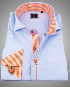 #French #cuff #shirts are becoming more and more popular and are a great addition to any man's shirt collection. Our men's shirts allow you to find your own #unique look and to choose shirts that are dramatically different and of a higher caliber than anything you would find in your usual #men's #fashion store. #fashionshirt #onlineshirt