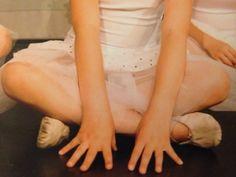 Ballerina nel back-stage