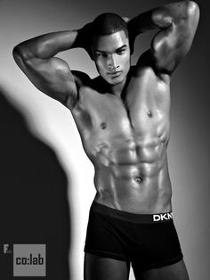 Model and former boxer - Rob Evans thanks to Tyra Banks for introducing me to this man..wow