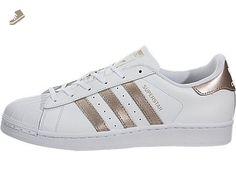 adidas Originals Women's Superstar W Fashion Sneaker, White/Supplier Colour/White, 7.5 M US - Adidas sneakers for women (*Amazon Partner-Link)