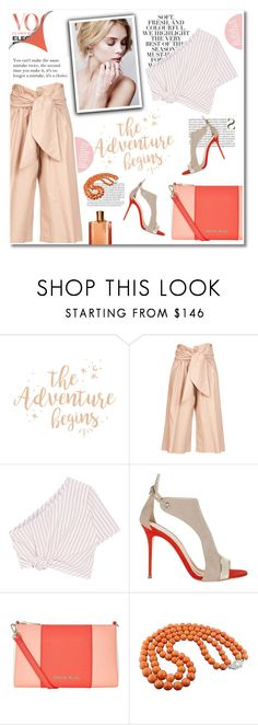 """""""the adventure begins"""" by limass ❤ liked on Polyvore featuring Folio, MSGM, Rosie Assoulin, Giuseppe Zanotti and Armani Jeans"""