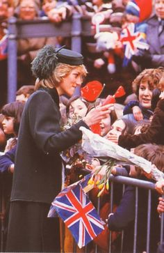 February 4, 1983: Princess Diana's visit to Royal Hospital for Sick Children in Bristol where she opened a new Intensive Care Unit.