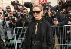 The Olivia Palermo Lookbook : Olivia Palermo at Christian Dior Show at 2017 PFW