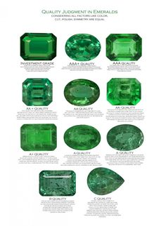 Loose Diamond : Emerald Buying guide❤️ Reference Emeralds how to Emerald stone fine jewelry mom emerald tips JK gemstones diamonds real emerald tips jewelry emerald ring quality guide Emerald Gemstone, Emerald Jewelry, Gems Jewelry, Gemstone Jewelry, Diamond Jewelry, Fine Jewelry, Emerald Cut, Zambian Emerald, Emerald Rings