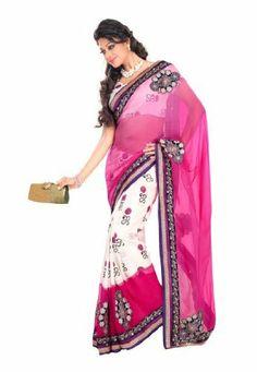 #Fabdeal #Indian #Designer #Bhagalpuri #Cotton & #Bemberg #Pink #Embroidered #Saree #fabdealdotcom Inc, http://www.amazon.fr/dp/B00INWPMCI/ref=cm_sw_r_pi_dp_2nsttb0MT9CMV