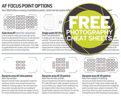 Autofocus point options: what subjects should each be used with? http://www.digitalcameraworld.com/2013/11/17/autofocus-point-options-what-subjects-should-each-be-used-with/