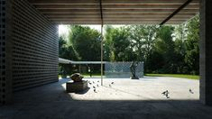 Best of Week 22/2015 - Rietveld Pavilion by Tamas Medve - Ronen Bekerman - 3D Architectural Visualization & Rendering Blog