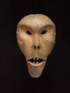 Mask 1870-1880 | Central Alaska/Anvik by beth