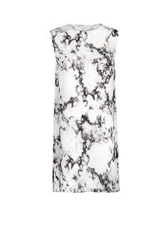 PREMIUM - Vestido gaze estampado mármore