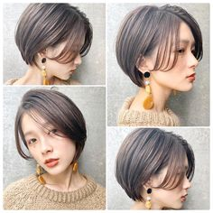 These 23 Inverted Bob Haircuts Are Trending in 2019 - Style My Hairs Cut My Hair, Love Hair, Hair Cuts, Inverted Bob Haircuts, Haircuts With Bangs, Medium Hair Styles, Short Hair Styles, Bobs For Thin Hair, Bob Hairstyles For Fine Hair