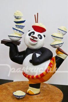Kung Fu Panda Cake @Dani Stobbs-Gallipeau