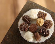 Miniature Dollhouse Food - Chocolates | Flickr - Photo Sharing!