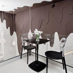 Chocolate Bar, o simpático café-bistrô temático localizado na PolÔnia foto: reprodução