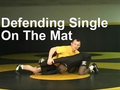 Defending Single Leg on Mat Opponent Locks Hands High Leg Over Wrestling Mom, Wrestling Videos, Best Player, Self Defense, Martial Arts, Techno, Oakley, Weapons, Coaching