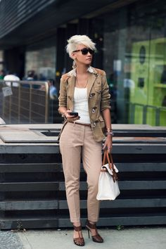 #EstherQuek working neutrals in Florence.