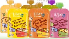 Giveaway: Win Ella's Kitchen Organic Baby Food (Ends 11/16)