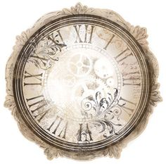 Bo Bunny Press - Timepiece Collection - 12 x 12 Die Cut Paper - Clockwork at Scrapbook.com $1.09
