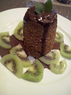 Mug cake z ovesných vloček | Zdravé recepty