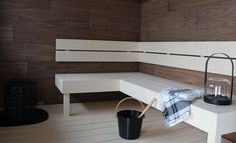 Seven Springs, Sauna Design, Spa Rooms, Corner Desk, Home And Family, Relax, Cottage, Saunas, Bath