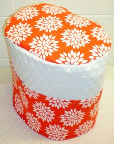 Check out this item in my Etsy shop https://www.etsy.com/listing/222538096/white-orange-starburst-quilted-cover-for