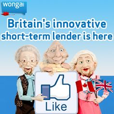 We offer flexible, short term loans that give you lots of control. Check us out: https://www.wonga.com