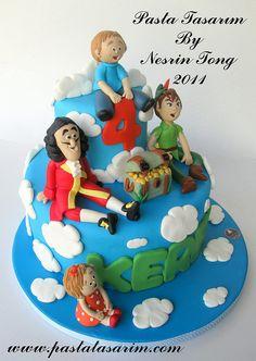 Peter Pan cake inspiration