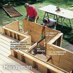 Building A Floating Deck, Deck Building Plans, Building A Cabin, Low Deck, Deck Patio, Off Grid Tiny House, Deck Construction, Deck Stairs, House Deck