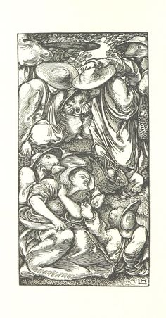 """British Library digitised image from page 34 of """"Goblin Market . Illustrated by L. Melencolia I, Kraken Sea Monster, Tattoo Museum, Christina Rossetti, Sacred Geometry Tattoo, Retro Illustration, Sea Monsters, Realistic Drawings, Flower Mandala"""