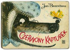 Children's Books in Poland: The 1960s - 50 Watts Cover illus. by Danuta Imielska-Gebethner for Czerwony Kapturek, 1963  From the collection of Hipopotam