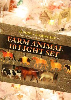 FARM ANIMAL LIGHT SET - Junk GYpSy co.