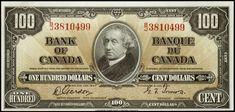 Bank Of Canada 1937 One Hundred Dollar Bill - New Dollar Wallpaper HD Noeimage. 100000 Dollar Bill, Thousand Dollar Bill, 10 Dollar Bill, Dollar Money, 100 Dollar, Dollar Heart Origami, Dollar Bill Origami, Money Origami, Canadian Coins