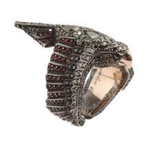 Sevan Bicakci Multicolor Diamond & Sapphire Parrot Ring