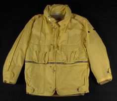 As part of the Stone Island A/W 1988-89 Collection, this Ice Jacket and ski trousers changes from yellow to green in extremely low temperatures.
