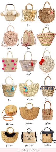 Petite Fashion, Curvy Fashion, Fall Fashion, Style Fashion, Straw Handbags, Straw Tote, Fashion Capsule, Jute Bags, Petite Style