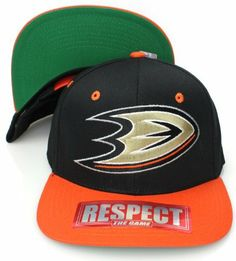 Anaheim Ducks Logo Zephyr Snapback Cap Hat Black Tan by Zephyr. $10.04. Brand new retro snapback cap. Embroidered team logos. Snapback design. One Size Fits Most.