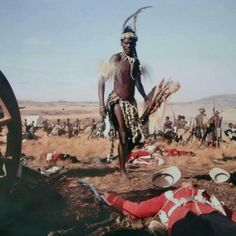 The battle of Isandlwana - the opening sequence of the movie 'Zulu Dawn' African Culture, African American History, British History, Military Art, Military History, Zulu Warrior, British Colonial, Great Movies, Black History