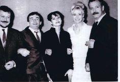 Georges Brassens en compagnie de Barbara, Boby Lapointe, Maurice Baquet
