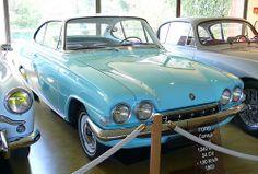Ford Consul Capri blue 1963 vr