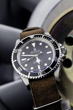 Vintage Rolex 5513 Submariner Plexi