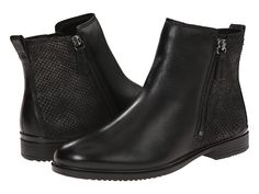 ECCO Touch 15 Scale Bootie Black/Black - Zappos.com Free Shipping BOTH Ways