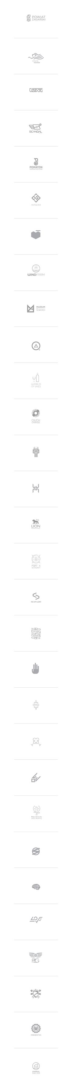 Selected logo made in 2012 by Adam Quest, via Behance