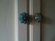 mismatched knobs on the kitchen cupboards! Did it and I love it!!!