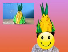 """""""A virtual scrap book for my crafty personal projects and ideas. Feel free to check out my latest offering. Pineapple Hat, Colored Paper, Diy Paper, Pikachu, Christmas Decorations, Nutrition Month, Scrapbook, Crafty, Hats"""