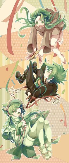 The Green Haired Trio - Tales of The Abyss