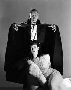 Lon Chaney Jr. & Louise Allbritton in Son of Dracula, directed by Robert Siodmak, 1943.