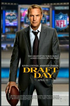 Draft day -  This was a really good movie, Kevin Costner did a great job...I had no idea there was such drama when it came to building football teams.